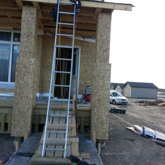 Ugly Ladder Set-up